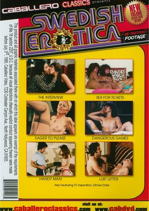 Swedish Erotica Vol. 124