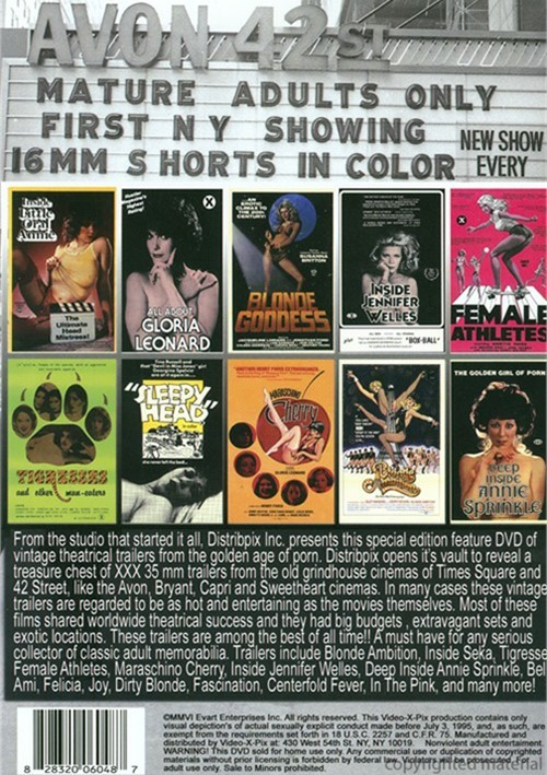 Best of 42nd Street, The: 35mm Grindhouse Trailers