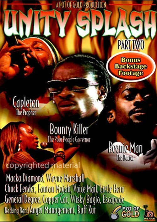 Unity Splash 2006 Part 2 [2006 г., Reggae, DVD9]