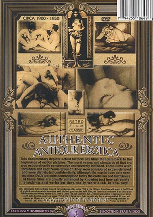 Authentic Antique Erotica Vol. 3