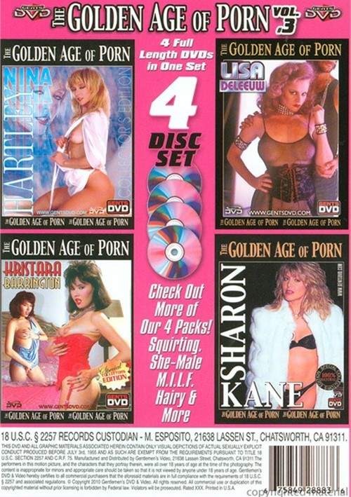 Golden Age of Porn Vol. 3 (4-Pack)