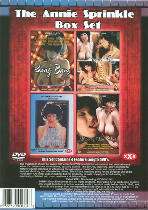 Annie Sprinkle Box Set, The